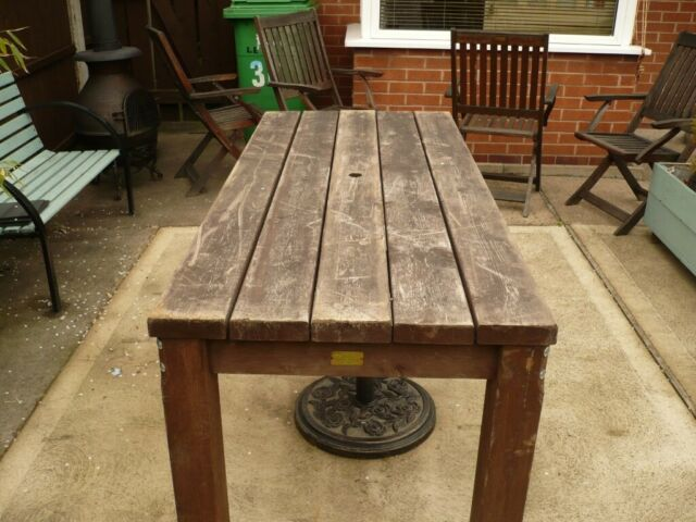 Excellent Pub Table In Beechdale Nottinghamshire Gumtree Caraccident5 Cool Chair Designs And Ideas Caraccident5Info