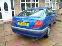 Toyota Avensis 1.8L 5dr 1998 (S reg)   Hatchback   154,000   Manual   1.8L   petrol