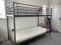 IKEA SVARTA bunk beds.