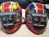 kids takachi helmets new