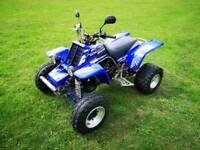 Road legal Yamaha Banshee Quad bike
