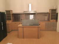 Used Good Condition Kitchen Cabinets and Island with Dishwasher, Sink, Garbage Dispoal/Aerator