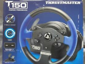 Thrustmaster T150 steering/racing wheel no pedals for PS3/PS4