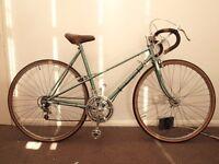 """Vintage Raleigh silhouette ladies road bike 20"""""""