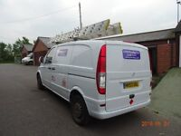 Rhino Modular Roof Rack for Mercedes Vito Van