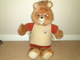 TEDDY RUXPIN FAB FULLY WORKING CONDITION