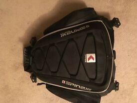 Spinex Technology bike tank bag/ backpack and extras