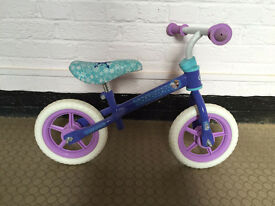 Disney Frozen Balance Bike