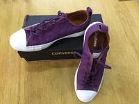 **Worn once **- Genuine Converse Trainers
