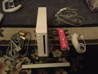 For Sale WII Console & 10 Games