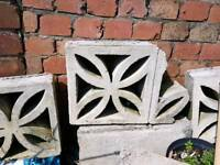 Decorative Concrete Screen Blocks