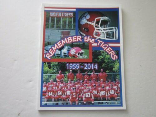 Haysi High School Football History Book 1959 - 2014 Remember the Tigers Virginia
