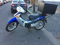 honda anf 125cc samiautomatic 2005 scooter