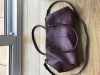 Accessorize Burgundy Handbag