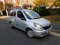 2001 TOYOTA YARIS VERSO 1.3 AUTOMATIC 1 OWNER £1095