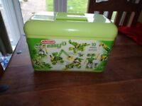 Carry case of Meccano building set. Level 1 - new