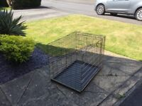 Small dog cage 24 x 17
