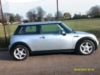MINI ONE DIESEL years mot cheap tax reduced for quick sale £795