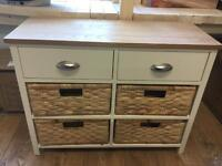 Collection Addington 6 Drawer Hallway Unit - Cream