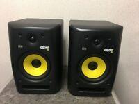 Pair Of KRK 6 Rpg2 Speakers - Boxed