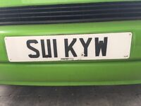 Personalised Private Registration Plate S111 KYW