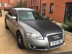 AUDI A6 2006 2.0 TDI DIESEL ** 6 SPEED ** FULL SERVICE HISTORY ** NEW GEARBOX AND JUST BEEN SERVICED