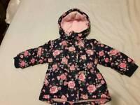 Baby girl winter jacket size 9-12