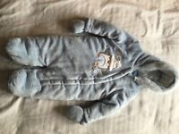 NEW Baby pramsuit 9-12months
