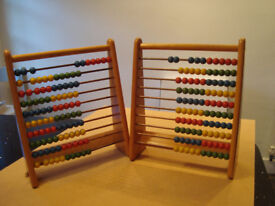 2 x Abacus for sale £5 each. Collection only..