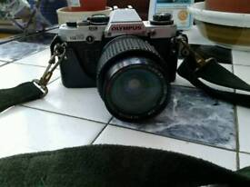 """""""OLYMPUS"""" OM10 CAMERA JUST NEEDS A SERVICE. EXCELLENT PICTURES. £50. NO TEXTS PLEASE."""