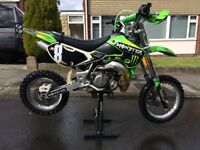2010 Kawasaki KX 65 kids motocross bike ( KX65 Not KTM RM CR )
