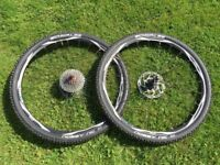 Shimano Deoro XT WH-M775 Wheels with Schwalbe Nobby Nic tyres