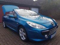 Peugeot 307 CC 2.0 16v Sport 2dr£2,985 p/x welcome FREE WARRANTY. NEW MOT