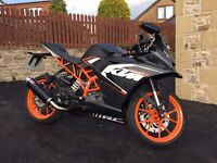 KTM125RC ASB bike - under 1000 miles