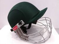 Gray-Nicholls Bottle Green Cricket Helmet Size - Youth 6.5 inches (Used)