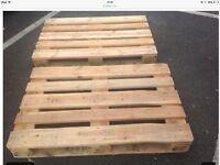 Top wood pallets