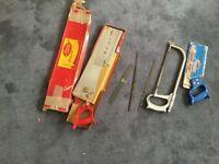 Selection of saws needing new home