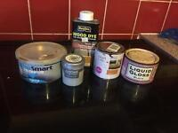 Free to collect sample paint pot varnish wood dye etc
