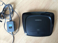 Wireless Router Linksys WRT54G2 version 1