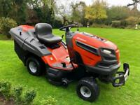 Husqvarna TC338 Ride on Mower - lawn tractor - Mulch - collector - John Deere/Countax/Kubota