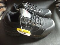 Dr Martens Gunaldo Steel Toe And Midsole Safety Shoes size 4 unisex