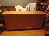 Morris Furniture Company Oak Sideboard