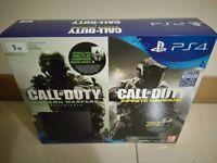 PS4 PlayStation 4 1TB + Call of Duty: Infinite Warfare & Modern Warfare