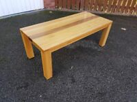 Solid Oak Coffee Table FREE DELIVERY 922