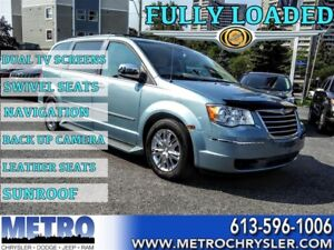 2009 Chrysler Town & Country Limited -SWIVEL SEATS, GPS, SUNROOF