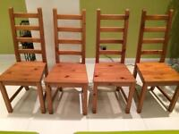 IKEA KAUSTBY Dining Chair x 4