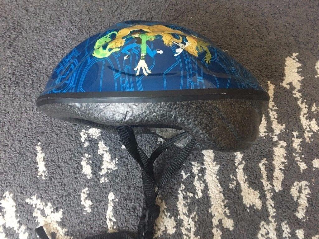 Ben 10 bike helmet M size
