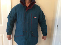 VINTAGE BERGHAUS GEMINI GTX ZX Large Gortex Jacket With Liner