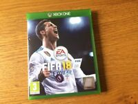 Fifa game 2018 for Xbox one