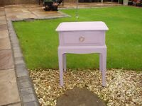 small table annie sloan chalk painted. colour emile